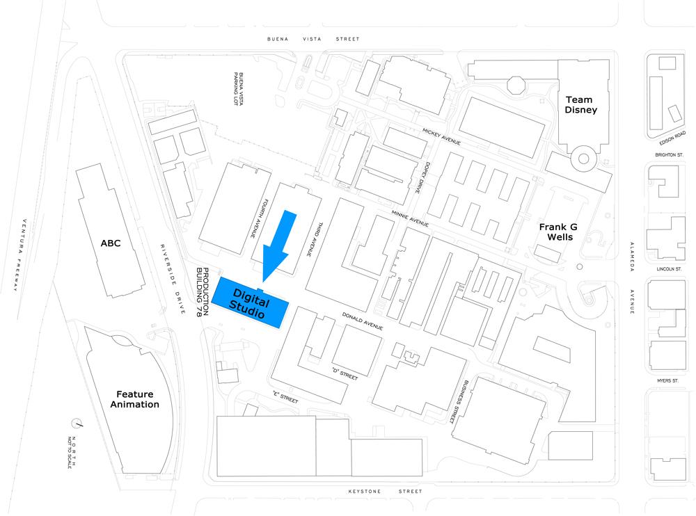 Under construction the new digital studio center for Site plan app
