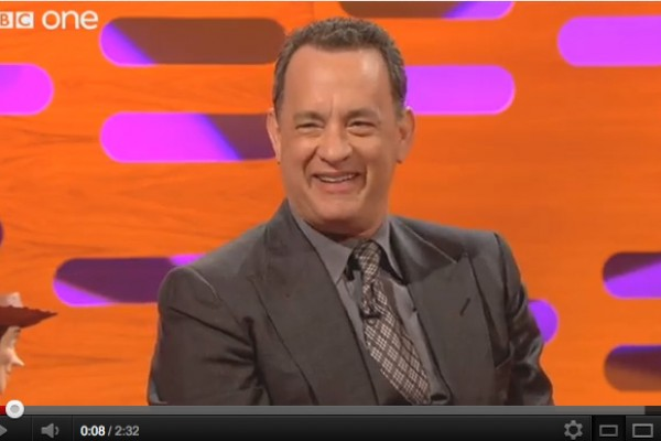 Tom Hanks Talks About Working on an  ADR Stage