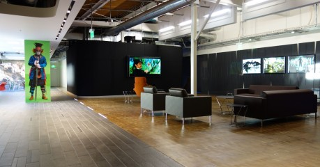 Editorial and Collaboration Center Lobby